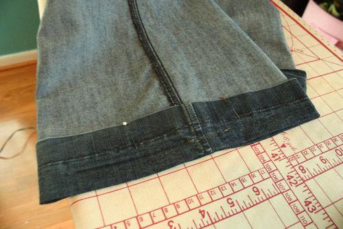 Legge opp bukser