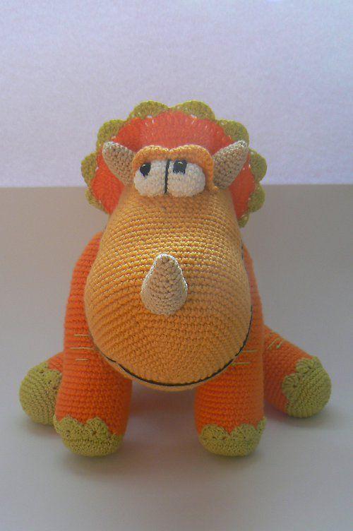 14 best crochet hippo images on Pinterest | Crochet hippo, Knit ...