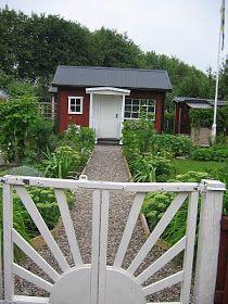 Isas Trädgård: 1000 trädgårdar del 1 - bedårande koloniträdgårdar !
