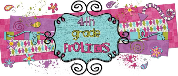 "4th Grade Frolics-  This blog has several links to other grade level blogs with cute decor, Daily 5 (shown how to do in 4th grade) and cute paper and ""schtuff""!  Hope you all have a couple of hours!"