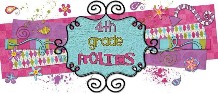 4th Grade Frolics- 4th grade blogFourth Grade, Math Center, Grade Frolic, Teaching Ideas, Classroom Ideas, Classroom Organic, 4Th Grade Blogs, Daily 5, Teachers Blog