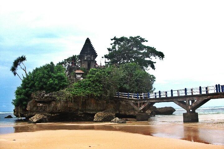 Balekambang beach, east java, Indonesia