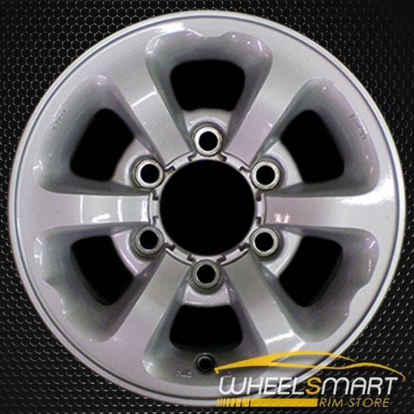 14 Nissan Pickup Oem Wheel 1996 1997 Silver Alloy Stock Rim 62340 Oem Wheels Wheels For Sale Wheel