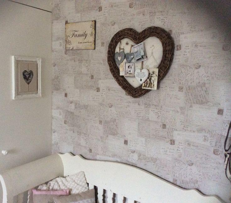 17 beste afbeeldingen over my home op pinterest witte lakens tuin en zelfgemaakt - Behang ingang gang ...