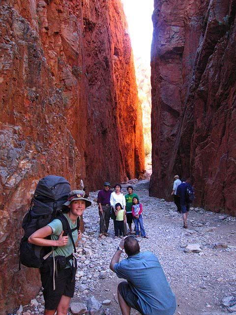 Stanley Chasm, Larapinta Trail