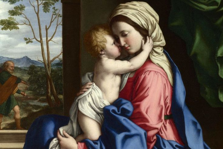 The holy mother baby jesus catholic religion wallpaper | 1920x1200 | 70913  | WallpaperUP
