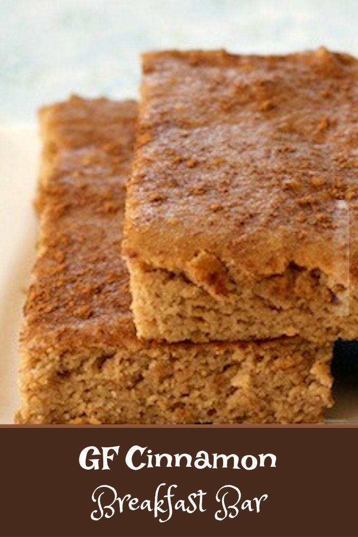 Grain Free Cinnamon Breakfast Bar