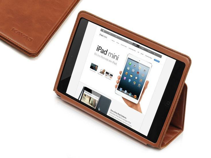 """KAVAJ - iPad Mini Tasche """"Berlin"""" cognac   KAVAJ"""