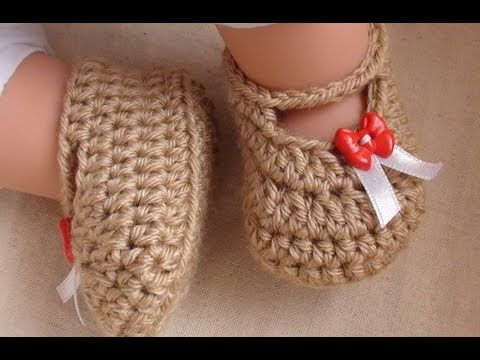 Posh Crochet Baby Booties - Newborn to 12 Month Old Sizes