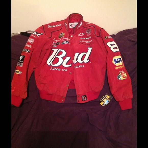 NASCAR Jacket Budweiser - nascar Jackets & Coats