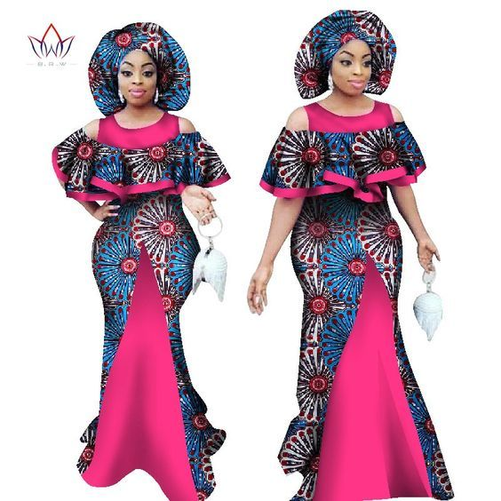 ankara styles 2017 for ladies,ankara styles 2017 skirt and blouse,ankara styles 2017 pinterest, ankara styles 2017, Ankara Long Gown