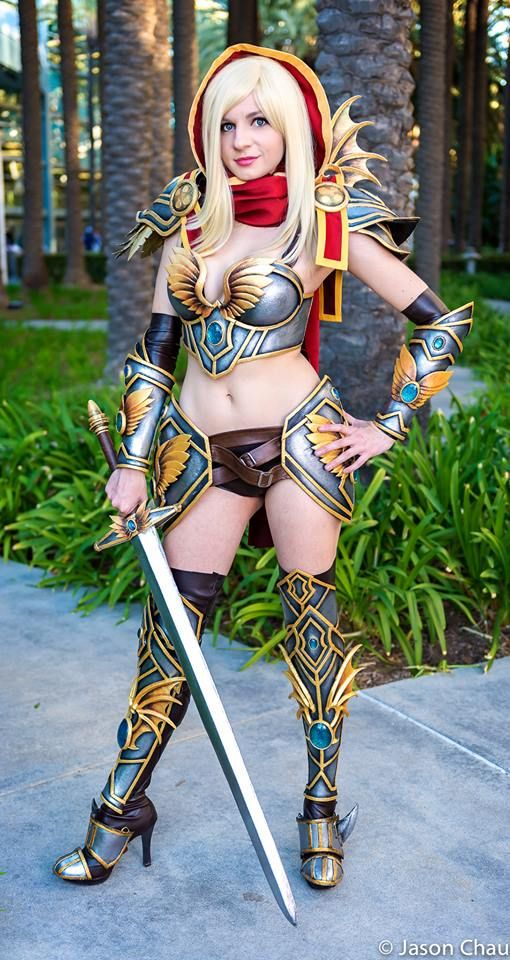 Paladin From Blizzards World Of Warcraft By Andy Rae Cosplay