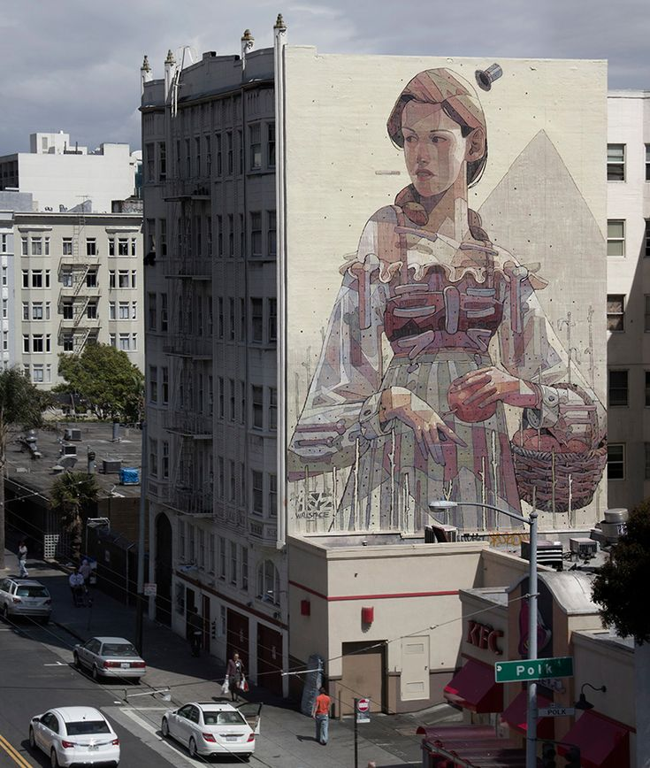 Urban Artists: ARYZ // Mr Pilgrim Graffiti Art Online #graffitiart #aryz #streetart #urbanartists #sanfrancisco