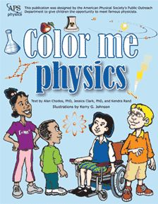 Free Download - Color Me Physics and at same link free Physics COMICS