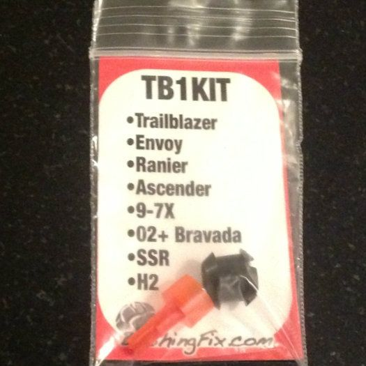 Trailblazer Shift Cable Repair Kit and Replacement Bushing