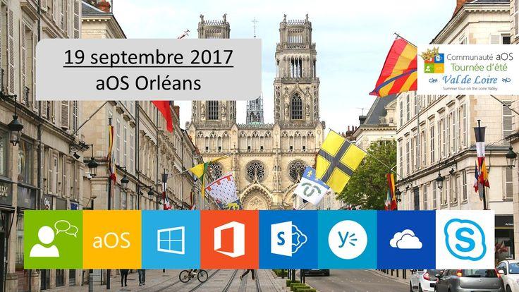 La tournée aOS Vallée de la Loire 2017 se déroule sur 3 journées Chambord le 18 septembre, inscrivez vous ici, Orléans le 19 septembre, inscrivez vous sur cette page, Tours le 20 septembre, inscrivez vous ici.  https://www.eventbrite.fr/e/billets-aos-orleans-19-septembre-2017-36022591541?aff=erellivmlt