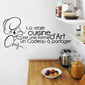 Stickers Créative Stickers muraux pour Cuisine Décoration à
