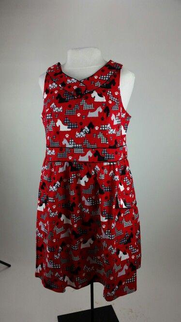 Scottie dress or Westie