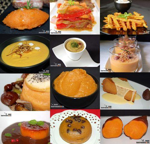 Doce recetas con batata