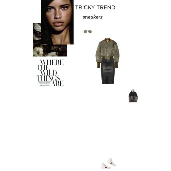Bez tytułu #91 by izabelmaz on Polyvore featuring moda, 3.1 Phillip Lim, Joseph, Mansur Gavriel, Ray-Ban, Yves Saint Laurent and Ciao Bella