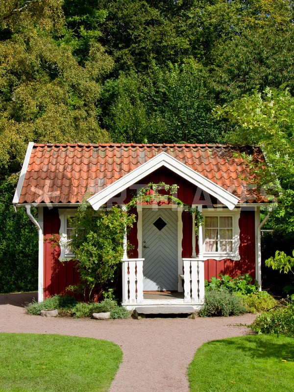 Stuga...scandinavian peasant house...now country homes.