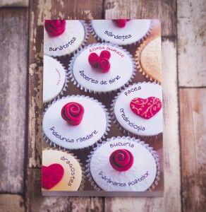 Carnetel cu briose :) #cupcake #notebook