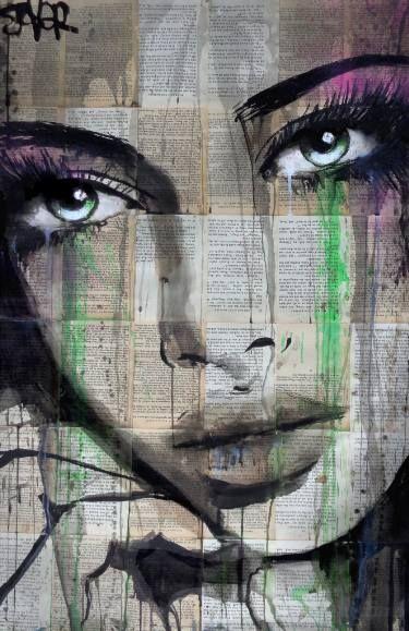 """Saatchi Art Artist Loui Jover; Drawing, """"in feelings"""" #art"""