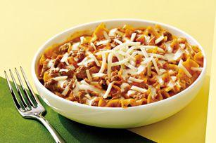 These are awesome and quick.VELVEETA Lasagna Skillet Recipe - Kraft Recipes