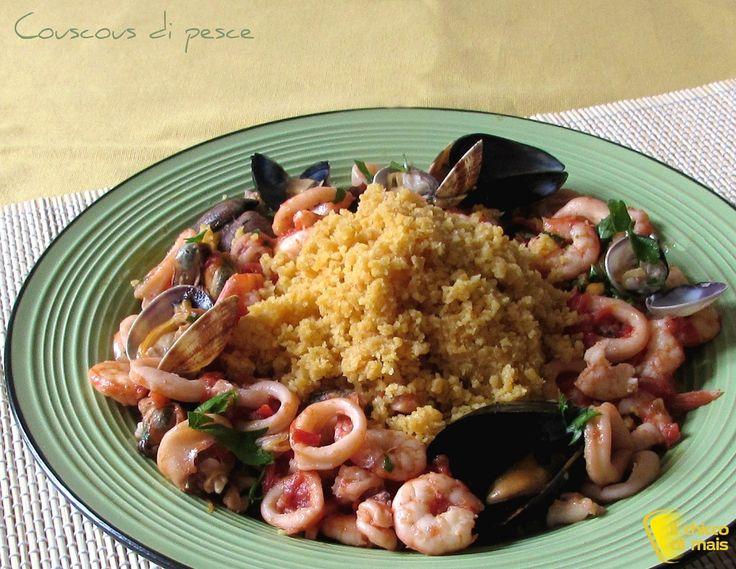COUSCOUS DI PESCE #couscous #cuscus #pesce #seafood #ricetta #recipe #italy #italianfood #sicily #sicilia #foodporn #ilchiccodimais http://blog.giallozafferano.it/ilchiccodimais/couscous-di-pesce-con-frutti-di-mare-ricetta-passo-passo/