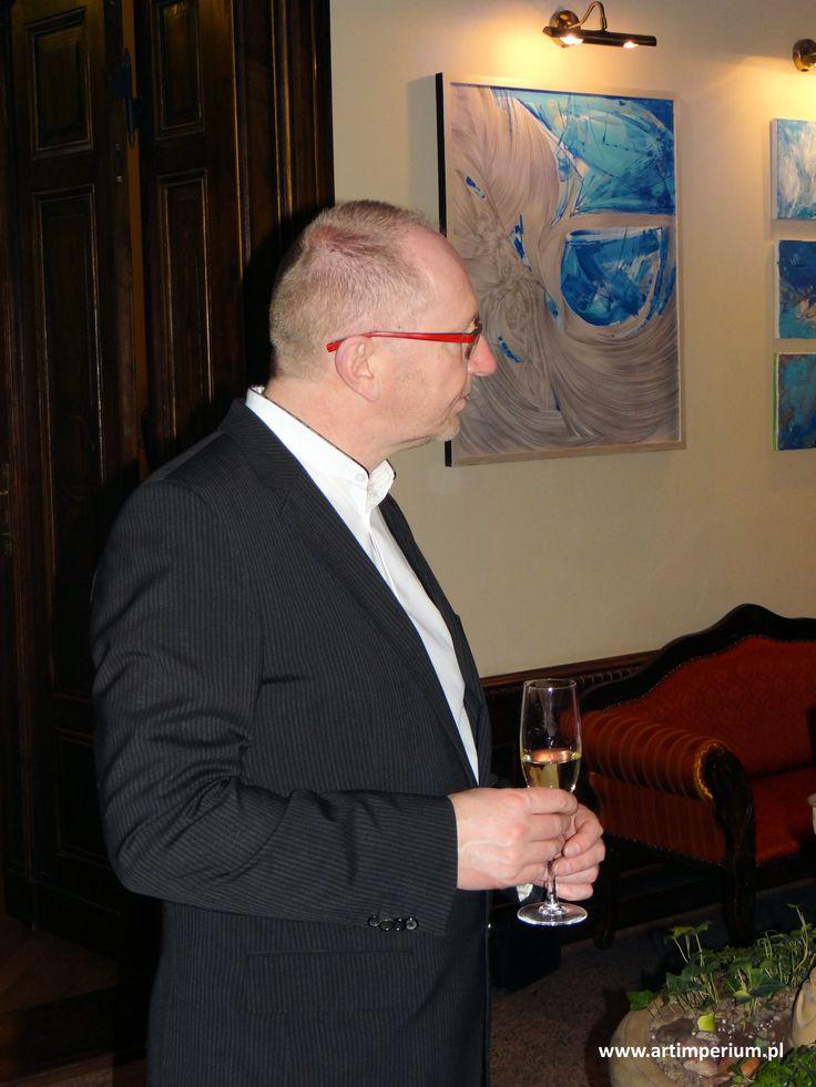 Villa Orłowo - wernisaż Danuta Nawrocka