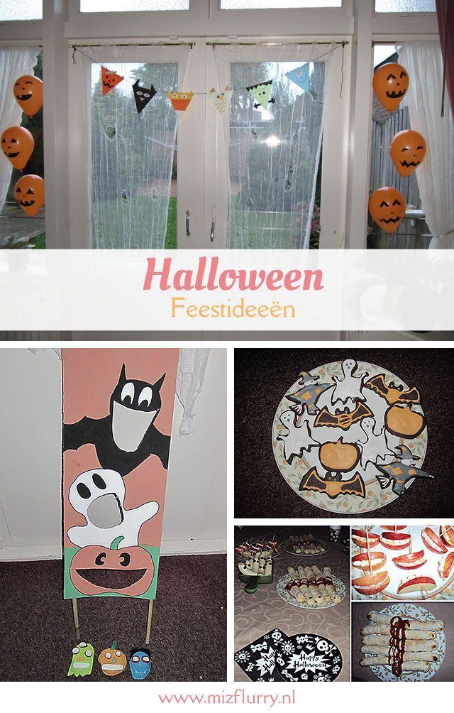 Leuke en handige ideeën voor het plannen van een Halloween-feest voor kinderen. Tips voor het plannen, uitnodigen, versieren, verkleden, spelletjes, eten & drinken en langs de deuren gaan.