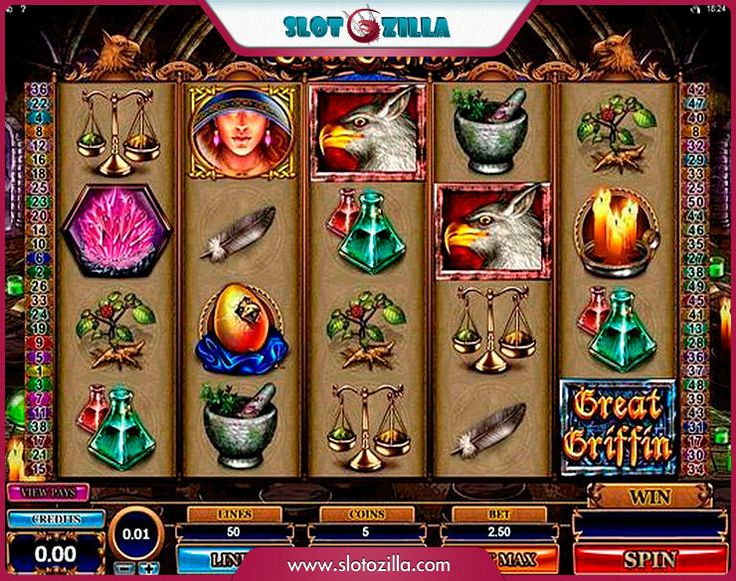 Great Griffin free #slot_machine #game presented by www.Slotozilla.com - World's biggest source of #free_slots where you can play slots for fun, free of charge, instantly online (no download or registration required) . So, spin some reels at Slotozilla! Great Griffin slots direct link: http://www.slotozilla.com/free-slots/great-griffin