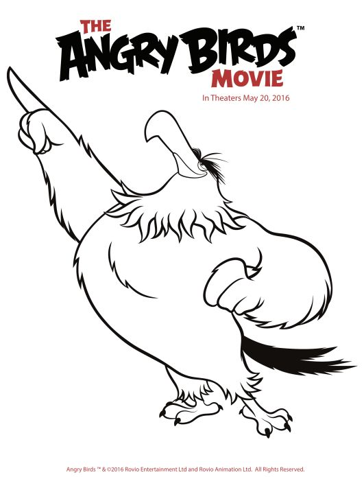 Free and Fun Angry Birds Coloring Pages {Printables} (With ...