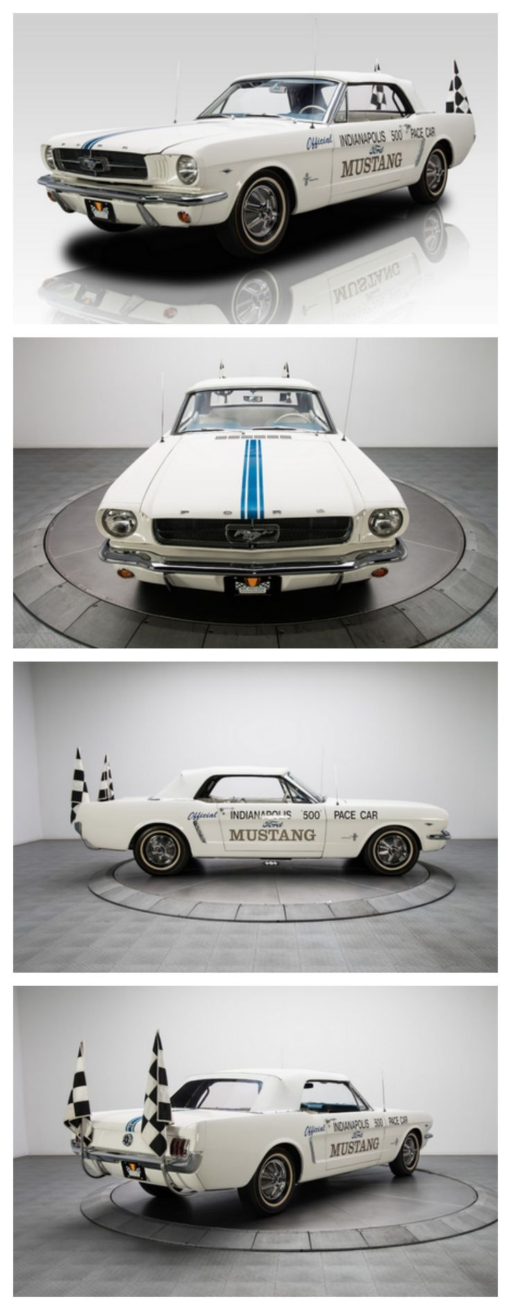 $1 Million Dollars Fro This One Of A Kind #Mustang Pace Car  #ThrowbackThursday