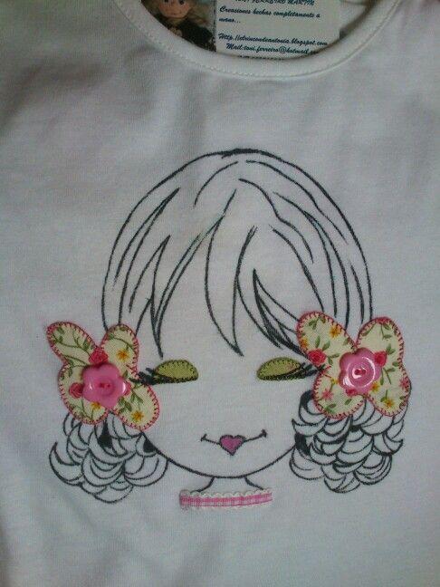 Camiseta MaraVilla para niña 5 años.