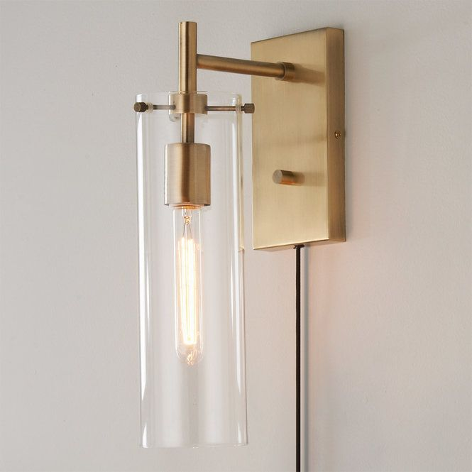 Tubular Vintage Wall Sconce Vintage Wall Sconces Contemporary