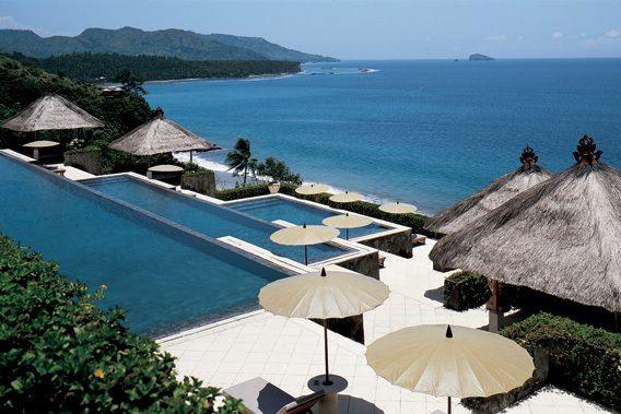 Amankila terraced pools