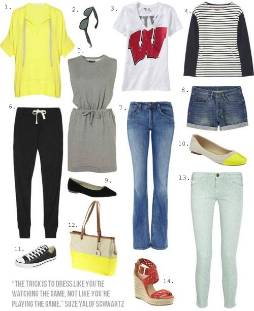 Outfit + Occasion: Sporting Event | So Much to Smile About