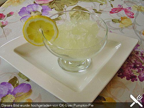Rosmarin - Zitronen - Sorbet