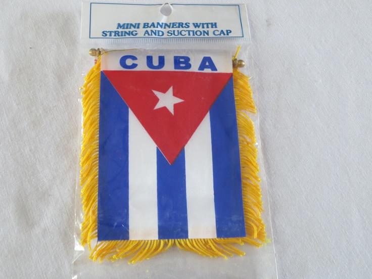 Cuba Mini Banner, $5.