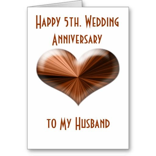 5th Wedding Anniversary Gifts For Husband