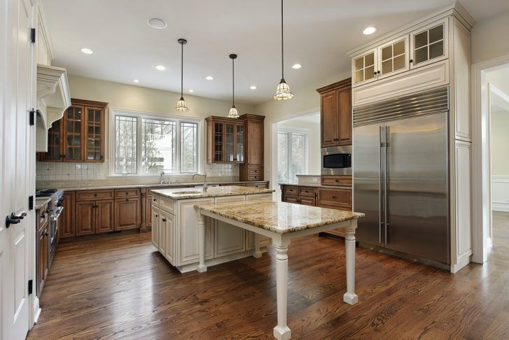 Kitchen:Luxury Kitchen Table Counter Kitchen Remodeling Pictures Dining Room Tables Rustic Wood Country Ideas Flooring Options Stove Backsplash Three Light Chandelier Juicers Tile Floor
