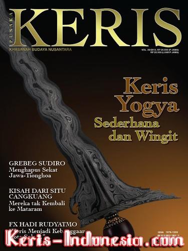 Majalah Keris vol. 30: 'Keris Yogya' | $19.99 USD