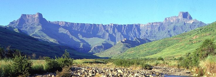 Surrounded by the Drakensberg Mountains