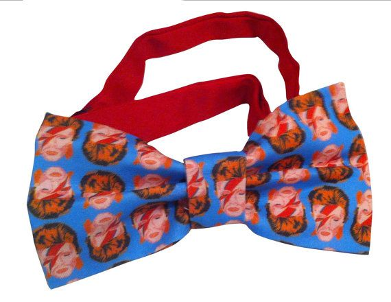 I hate David Bowie. But would live this bow tie