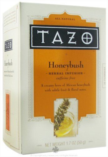Tazo Flowering Honeybush Herbal Tea * Continue to the product at the image link. (This is an affiliate link and I receive a commission for the sales)