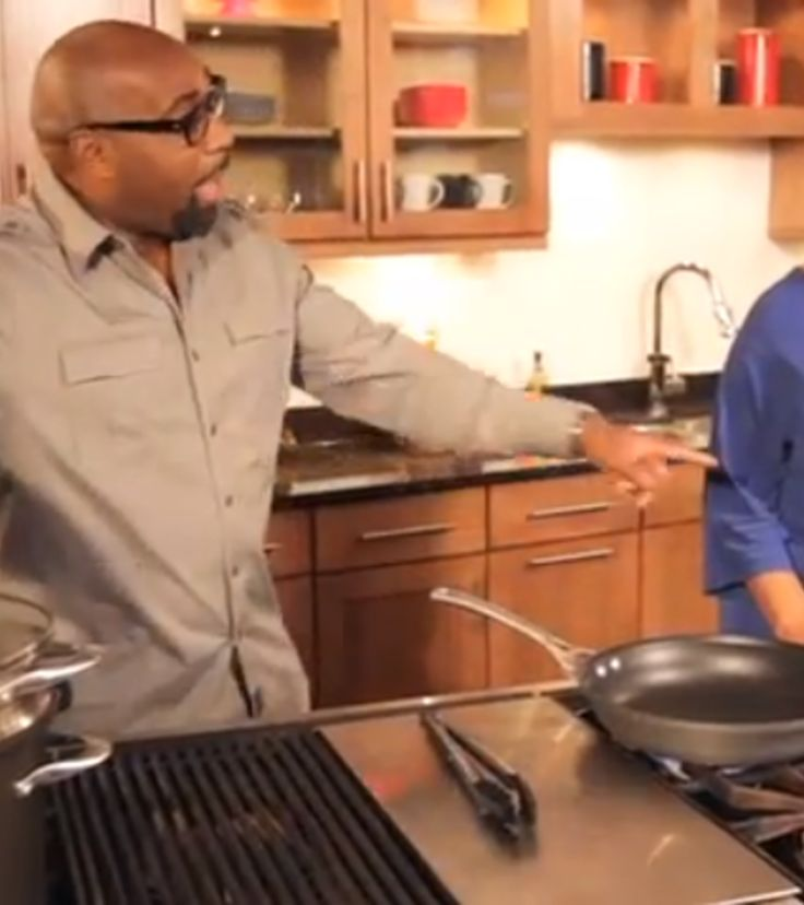Shirley Strawberry of the Steve Harvey Morning Show, stops by the Studio Kitchen to cook Bowtie Pasta with G. Garvin.