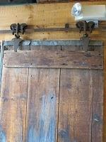 Interior Barn Door ~ Antique Rollers
