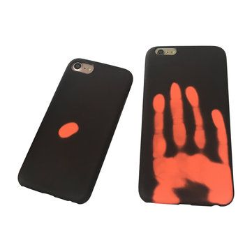 Physical Thermal Sensor Discoloration Soft TPU Shockproof Back Cover Case for iPhone 7 Plus Sale - Banggood.com