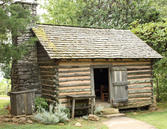 53 best the historic park images on pinterest mountain for Log cabin builders in alabama